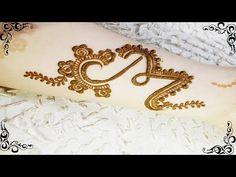 YouTube Mehndi Desgin, Mehndi Designs Book, Modern Mehndi Designs, Wedding Mehndi Designs, Latest Mehndi Designs, Mehndi Designs For Hands, Mehndi Drawing, Cute Henna Tattoos, Mehndi Style