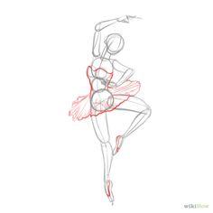 dibujos a lapiz faciles para dibujar bailarinas - Buscar con Google