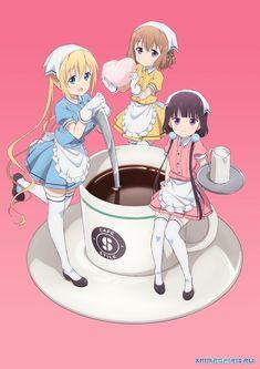 Blend S (ブレンド・S Burendo Esu) is the anime adaptation of the Blend S manga series. Me Me Me Anime, Anime Guys, Manga Anime, Anime Art, Chibi, Anime Style, Kawaii Anime, Aniplex Of America, Die Simpsons