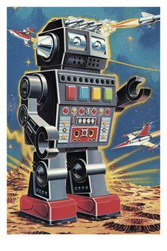 Technologie en industrie Posters - bij AllPosters.be