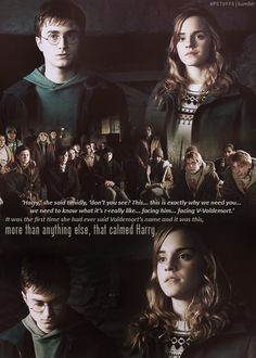 From Harry Potter & the Deathly Hallows - Hermione Grainger, a very brave and wise woman!