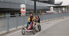 Bike for two person Bike Trailer, Baby Strollers, Children, Tandem Bicycle, Bicycling, Bunny, Metal, Baby Prams, Young Children