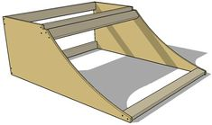 Quarter Pipe Framing - How to Make a Micro Quarter Pipe