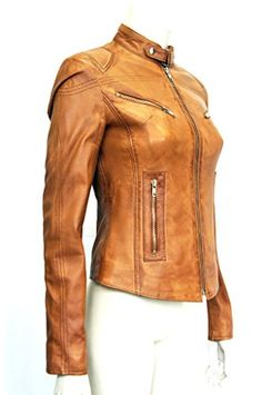Trendy leather Joan Tan Ladies Women's Short Vintage Look Real Sheep Nappa Washed Waxed Leather Jacket 16 Trendy leather http://www.amazon.co.uk/dp/B00EZMBK6C/ref=cm_sw_r_pi_dp_Lb7Vub0YZ1QZ1