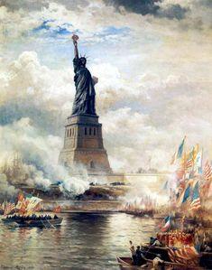 Statue of Liberty, Moran (1886)