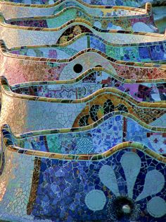 Park Guell, Barcelona...one of our favorites 2015