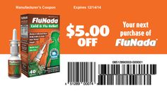 Flu season has arrived. Be prepared, stock up on FluNada! Available at CVS and Walgreens nationwide. Homeopathic Medicine, Flu Season, Personal Care, Cold, Self Care, Personal Hygiene