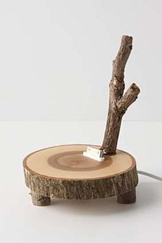 Tree Trunk Tunes: The Enchanted Woods iPhone Dock