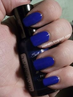 SH xtreme wear - Pacific Blue.  Love this colour! #nails