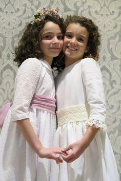 Girls Dresses, Flower Girl Dresses, Wedding Dresses, Flowers, Fashion, Moda, Dresses For Girls, Bridal Dresses, Alon Livne Wedding Dresses