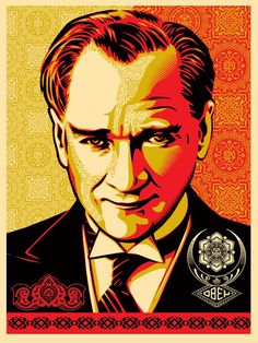 Shepard Fairey Expresses Solidarity With Turkish Protesters, Uploads Ataturk Portrait