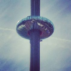 Went up the #i360 in
