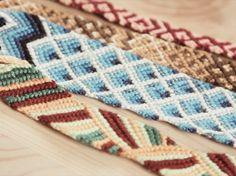 Kostenlose Anleitung: Buntes Armband knüpfen / free diy tutorial: colorful bracelet via DaWanda.com
