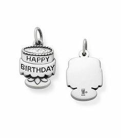 Tiny Birthday Cake Charm | James Avery