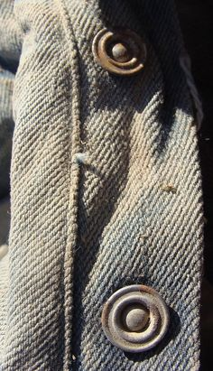 LS&CO. Red Button, Vintage Denim, Work Wear, Blues, Pure Products, Jeans, Fabric, Detail, Inspiration
