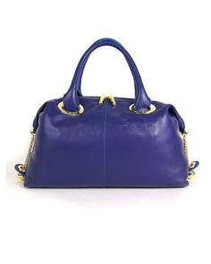 Judy Satchel, Imperial Blue by Z Spoke by Zac Posen at Last Call by Neiman Marcus.