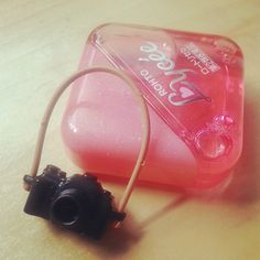 SOS for my dry eye! #pink #lycee #japan #rohto #playmobil #camera