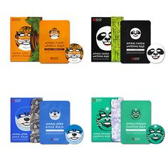 Animal Mask Sheet Tiger Panda Dragon Otter SNP 1/2/5/10/20/30pcs Free Shipping #SNP
