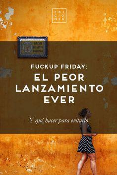 Demodé Ediciones |   Fuckup Friday: lanzamientos