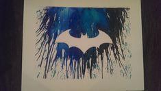 Batman Crayon Melt art