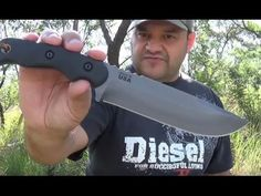 TOPS Tex Creek XL Review - with Andre from Survival Zone Africa Survival Knife, Knives, Africa, Tops, Knife Making, Knifes