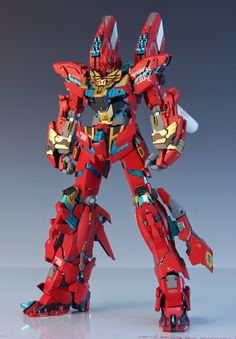 GUNDAM GUY: MG 1/100 Unicorn Gundam 03 Neo Zeon Full Frontal - Customized Build