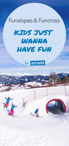 Kids just wanna have fun! Funslopes and Funcross are the modern way of oldschool tree runs, that's we've loved so much on skiing adventures. Family Ski, Old School, Skiing, Have Fun, Daddy, Adventure, Modern, Kids, Travel