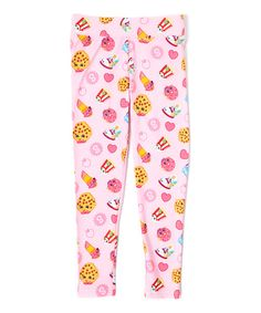 Look at this Pink Shopkins Leggings on #zulily today!