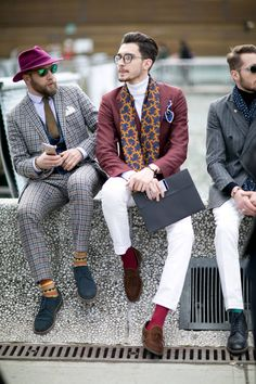 Street Style Homme Look #10