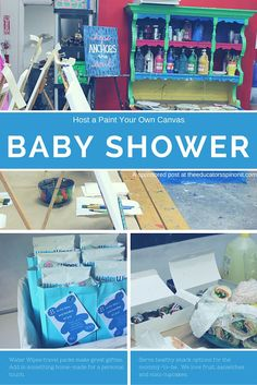 We NEED to do this for the baby shower. So easy and so much fun!