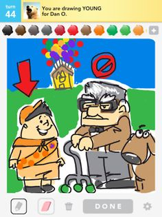 Whoa now!..Draw Something...