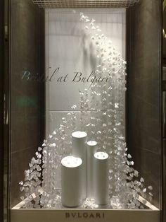Clean and Elegant Window Display
