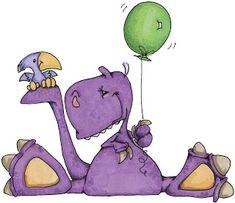 Ideia Criativa Lindas Imagens: Dinossauros Fofinhos