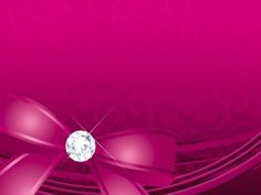 Pink diamond with ribbon PowerPoint background. Available in 1200x900, this PowerPoint template is free to download, and ready to use.