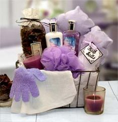 Relaxation Bath & Body Spa Gift Caddy by Gift Baskets Etc