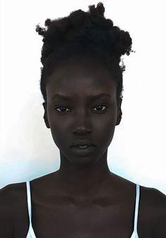 Pretty People, Beautiful People, Beautiful Pictures, Black Girl Aesthetic, Black Models, Black Female Model, Interesting Faces, Beautiful Black Women, Dark Skin