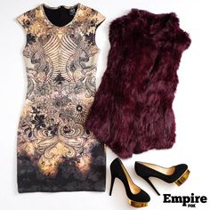 #OOTD as worn by Cookie Lyon (Taraji P. Henson) on s1 ep8 of Empire. Major richness coming from this Cookie get-up.
