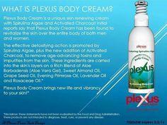 Plexus Body Cream. Skin renewing cream for men & women