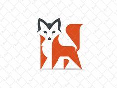 Fox Logo by Veronika Žuvić #Design Popular #Dribbble #shots