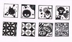 b doodle inchies
