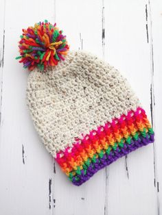For this very simple pattern you will need any worsted weight yarn in a main color, plus a few scraps of any other colors of your choosing! ...