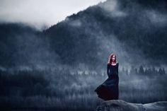 "elizabethgadd: "" Mooring in the Mist (by Elizabeth Gadd) """