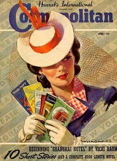Vintage Cosmopolitan cover