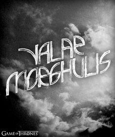 Valar Morghulis. #gameofthrones #arya #aryastark