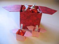 Origami box  #origami #box #valentine