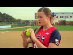 EASTON SOFTBALL: PITCHING TIPS - GRIPS - YouTube