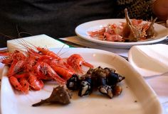 Shrimp & Goose Barnacles Cervejaria Ramiro Lisbon by www.your-lisbon-guide.com , via Flickr #Portugal