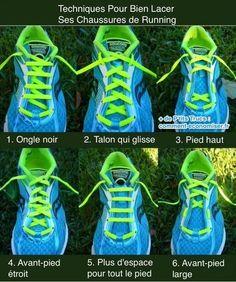 Techniques pour bien lacer ses chaussures de running en fonction de la morphologie de son pied