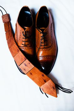 Bride and Chic | Modern Wedding Ideas By Leading UK Wedding Blog cool wooden tie! Groom style!