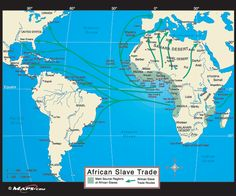 Trans-Saharan Trade | The Enslavement of Africans by Europeans and their forced migration to ...